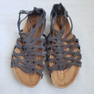 KALSO EARTH Negative Heel Sandals 6.5